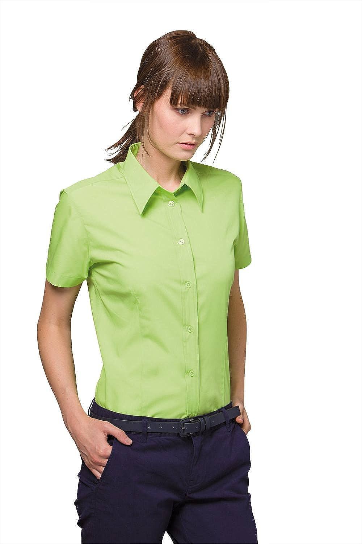 Kustom Kit Workforce Blouse Short Sleeved