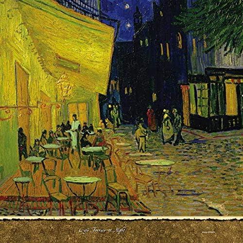 Amazon Com Van Gogh Ps4 Driver Piel Terraza De Café Por