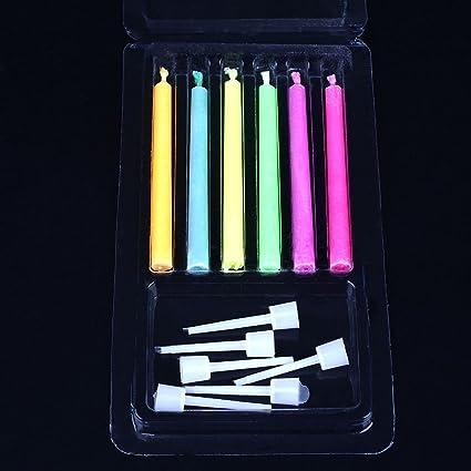 Il Colore Delle Candele.Kicode Candele Musicali Di Compleanno Delle Candele 8pcs
