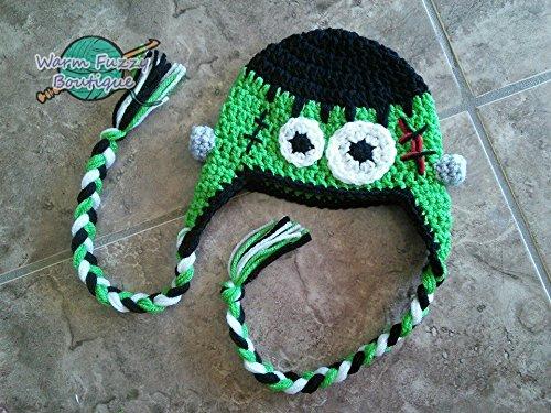 Frankenstein Earflaps Hat