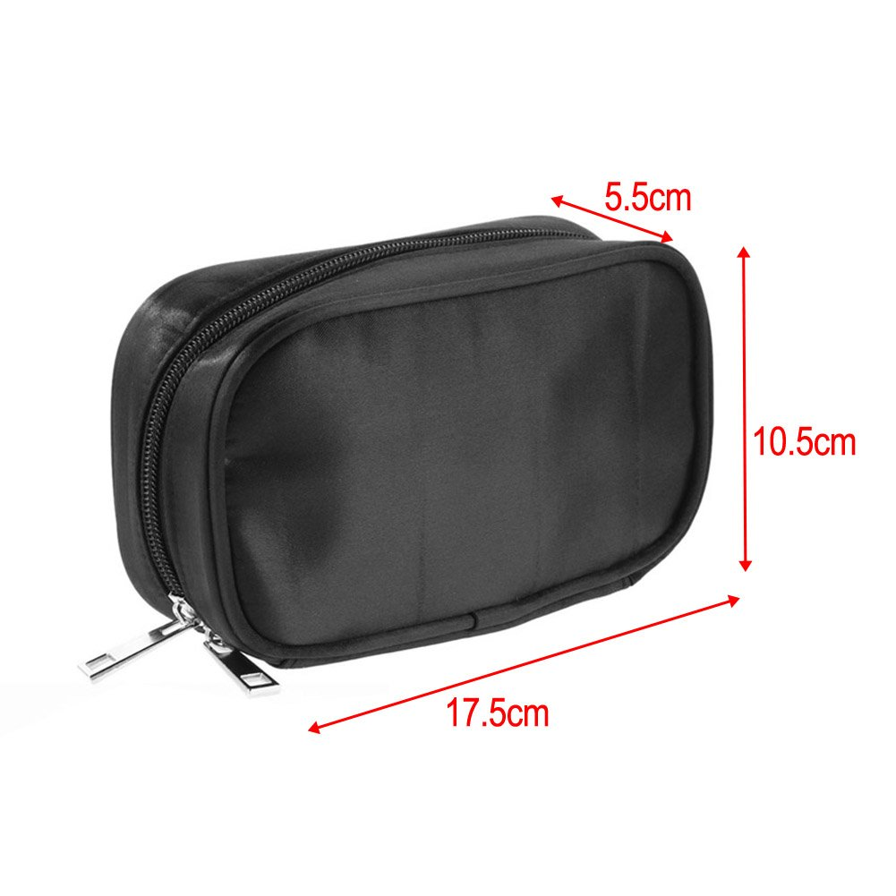 Portable Essential Oil Carrying Case Storage Pouch Bag For Oils Rollers Organizer - Easy to hold 10 Oil Bottles(5/10/15ml)