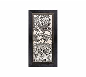Madhubani Painting Traditional Framed Wall Art And Living Room Décor With  Unbreakable Acrylic Glass