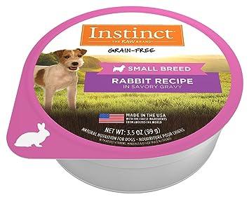 Amazoncom Instinct Original Small Breed Grain Free Real Rabbit