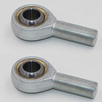 6mm SA//K M/ännliche Metrische Gewindestange Endverbindung Gelenklager Kugellager 16mm 6mm
