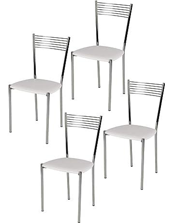 Tommychairs sillas de Design - Set de 4 sillas Modelo Elegance de Cocina, Comedor,
