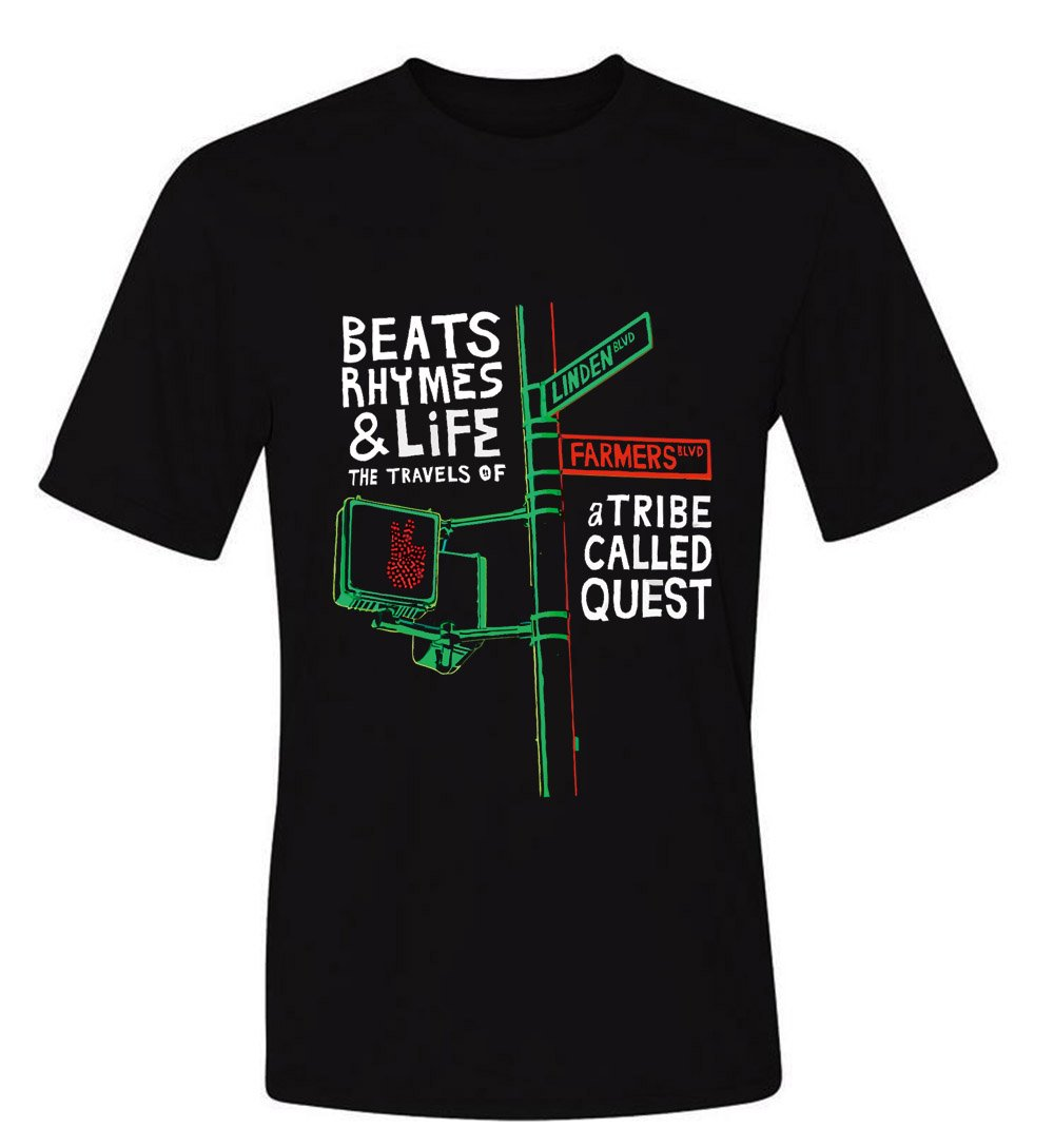Tribe Called Quest Beats Rythems Nd Life Shirts