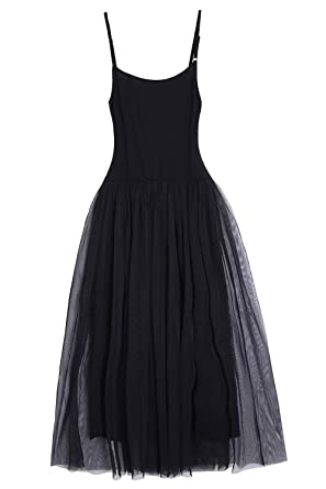 Coconino Black Tulle Dress