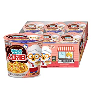 [Paldo] Pororo Spaghetti Cup Noodles (Pack of 6) / Korean food / Korean ramen / K-food (overseas direct shipment)