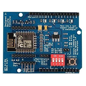para el Accesorio Arduino Kits UNO R3 ESP8266 Serial Wi-Fi ...