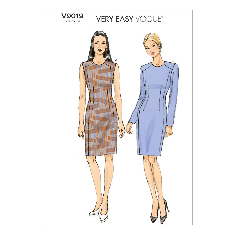 La Società 9019 E5 McCall modello di dimensioni 14-16 - 20-18 - modelli di cucito per 22 / dimensioni i modelli di vestiti Petite The McCall Pattern Company V9019E50
