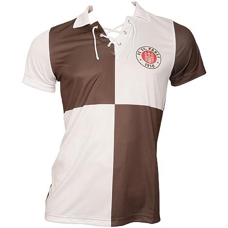 FC St. Pauli de fútbol – Camiseta Retro los Noventa años con Logotipo del Equipo