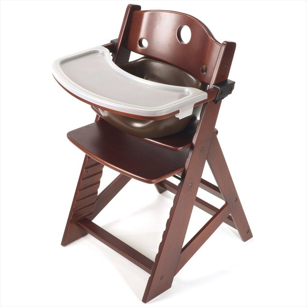 Nice Amazon.com: Keekaroo Height Right Highchair With Insert U0026 Tray   Chocolate    Mahogany Base: Baby