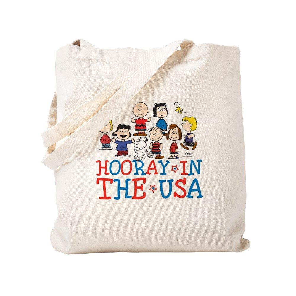 CafePress – Hooray in the USA – ナチュラルキャンバストートバッグ、布ショッピングバッグ S ベージュ 1608547806DECC2 B0773VD9PL  S