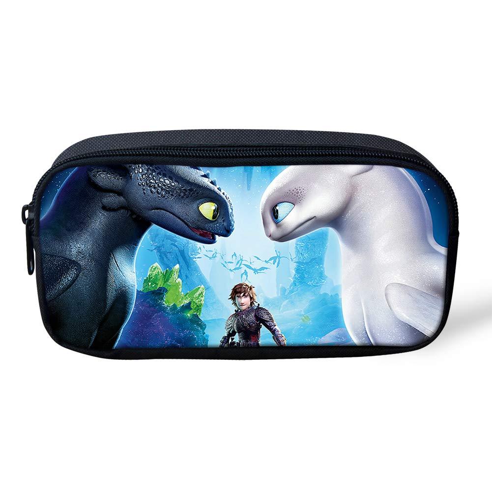Amazon.com: Cómo entrenar a tu mochila con patrón de dragón ...