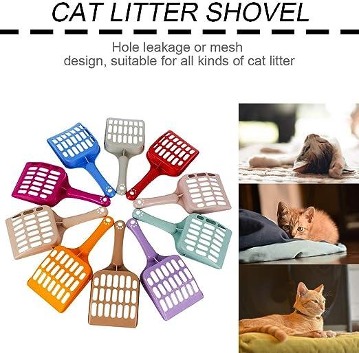 GreceMondayArena para Gatos Pala útiles de Limpieza para Mascotas ...