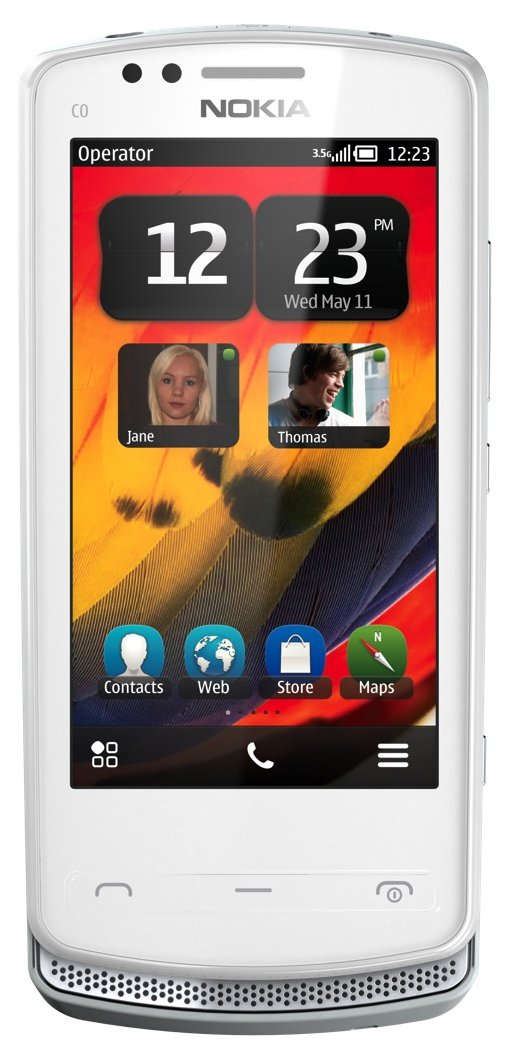 Nokia 700 Unlocked GSM Phone with Touchscreen, 5 MP Camera, Symbian Belle  OS, and NFC--US Warranty (White)
