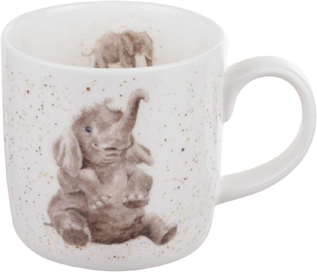 Portmeirion Home /& Gifts Out on The Town Mug en Porcelaine Anglaise Multicolore 8,5 x 12 x 8 cm
