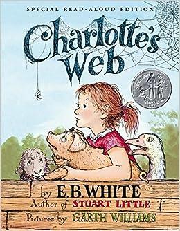 charlottes web read aloud edition e b white kate dicamillo garth williams 9780060882617 amazoncom books