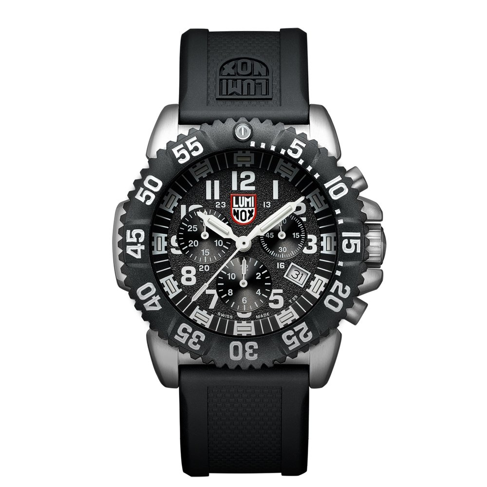Luminox Navy SEAL Colormark Chronograph Black Dial Mens Watch 3181