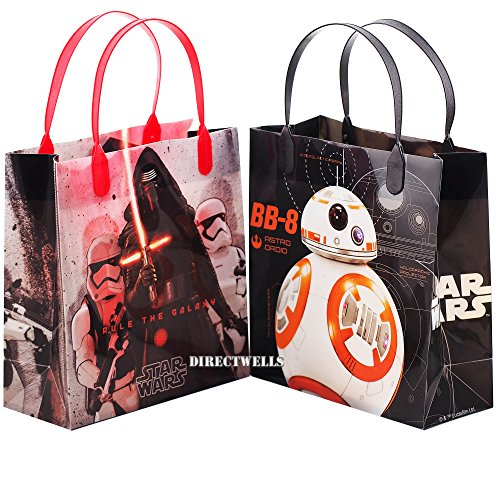 Disney Star Wars Rule The Galaxy Authentic Licensed 12 Party Favor Reusable Goodie Medium Gift Bags 8