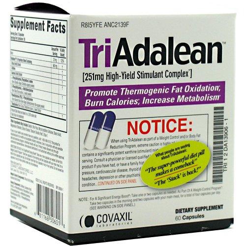 Triadalean Complexe Stimulant à haut rendement - 60 Capsules