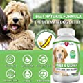 Milk Thistle Liver and Kidney Support for Dogs, Detox, with DHA, EPA, Hepatic Support, Dandelion Root, Omega 3 Fish Oil, Vitamin B1,B2,B6,B12, Kidney Stone Prevention, Bladder Support