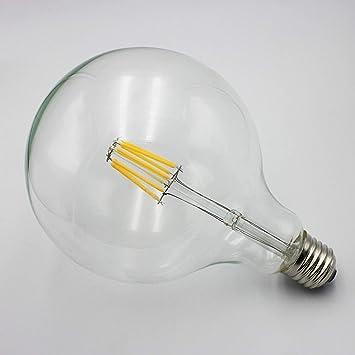 AmpouleRétro Incandescence G125 Meetyou Light Ampoule Edison Led À 8wPnOX0k