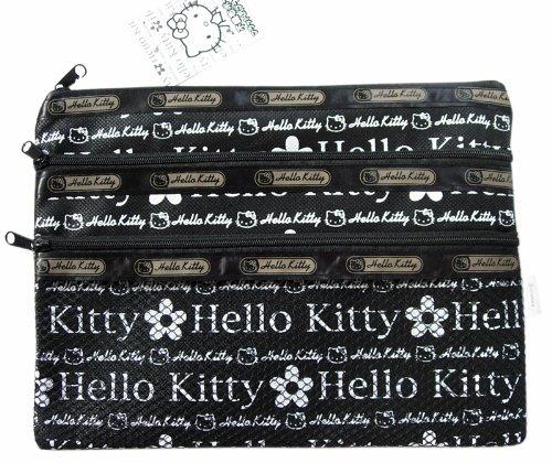 Hello Kitty Sanrio Cosmetics Bag Pouch - Flowers