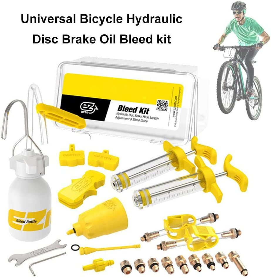 coil.c Mountain Bike Kit de Purge de Frein /à Disque Hydraulique Dot Huile Min/érale pour Shimano Magura Hope Tektro Sram Avid Mula Hayes Kit Purge Frein