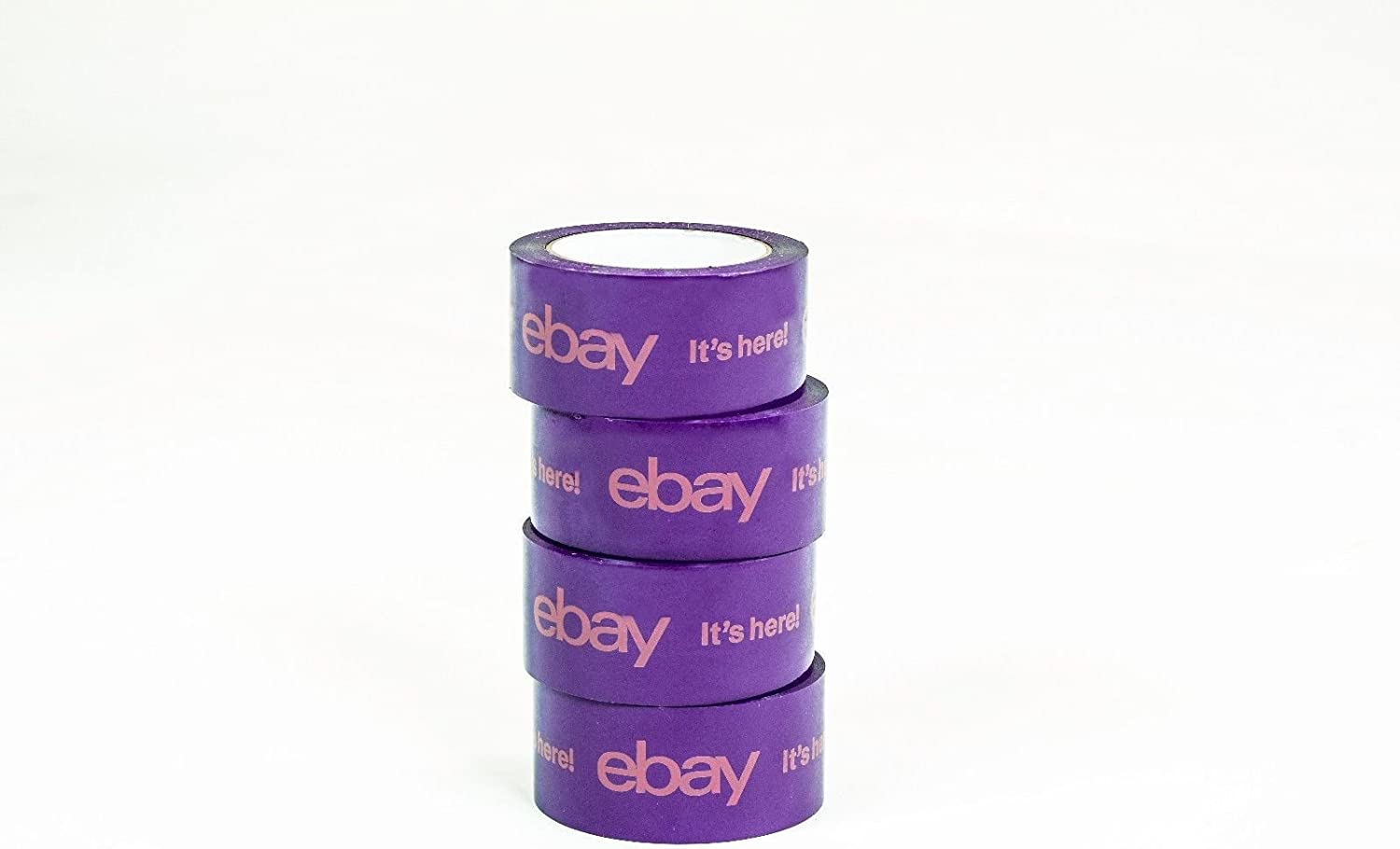Official  Branded BOPP Packaging Tape PURPLE Shipping Supplies 2 Rolls