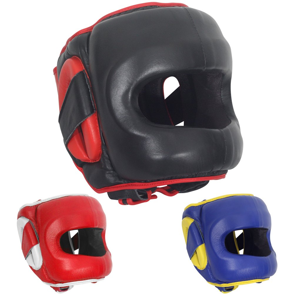 304fecc8f Ringside Deluxe Face Saver Boxing Headgear - Boxing914.com