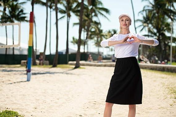 Amazon.com: Sollissa - Falda alina para natación/playa ...