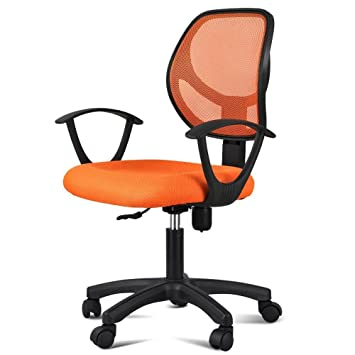 Fabulous Popamazing Fabric Mesh Adjustable Swivel Computer Desk Chair Download Free Architecture Designs Philgrimeyleaguecom