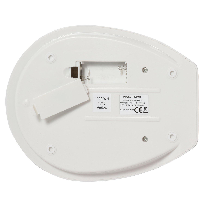 salter aquatronic digital kitchen scale white