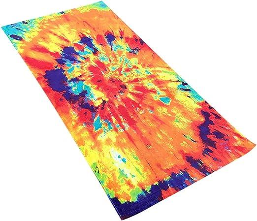 Toalla de baño de toalla de microfibra de playa Algodón Toallas de ...