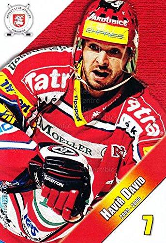 fan products of (CI) David Havir Hockey Card 2005-06 Czech HC Pardubice Postcards 4 David Havir