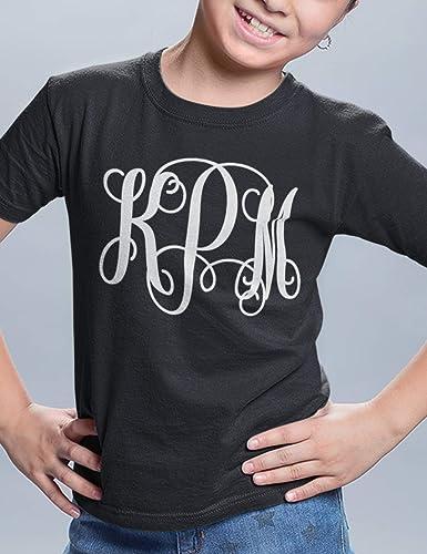 ad546d2a Amazon.com: Monogram Shirt For Girls: Handmade
