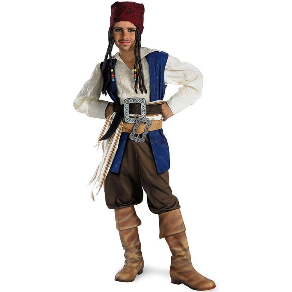 Amazon.com Standard Captain Jack Sparrow Costume - Child Medium Toys u0026 Games  sc 1 st  Amazon.com & Amazon.com: Standard Captain Jack Sparrow Costume - Child Medium ...