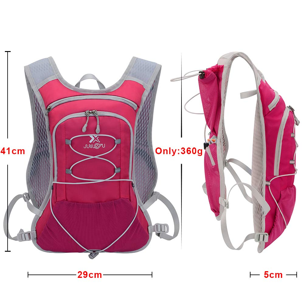 TEUEN Hydration Backpacks with 2L Bladder Running Water Backpack 6L  Lightweight Hydration Pack for Men Women Cycling Drink Backpack Rucksack  for Trail Marathon Running Hiking Hydration Packs Running