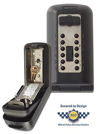 Kidde Supra - Caja guarda llaves de alta seguridad P500 con capacidad para 3/5 llaves