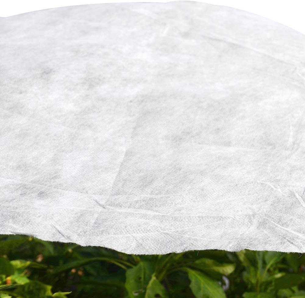 6.5'x20' Garden W-40G Plant Protection Non-Weave Fabric Blanket Against Snow Frost Hail Insect