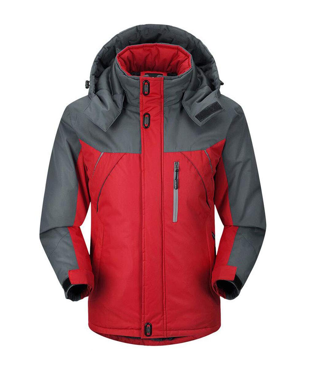 WSCS Herrenjacke, Freizeitjacke mit Kapuze Ski Lady Jacket Raincoat Windproof