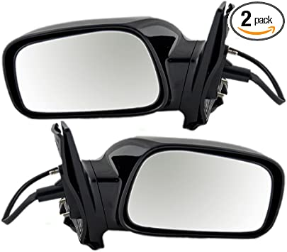 Amazon Com Driver And Passenger Power Side View Mirrors Replacement For Toyota 8794002391c0 8791002391c0 Autoandart Automotive