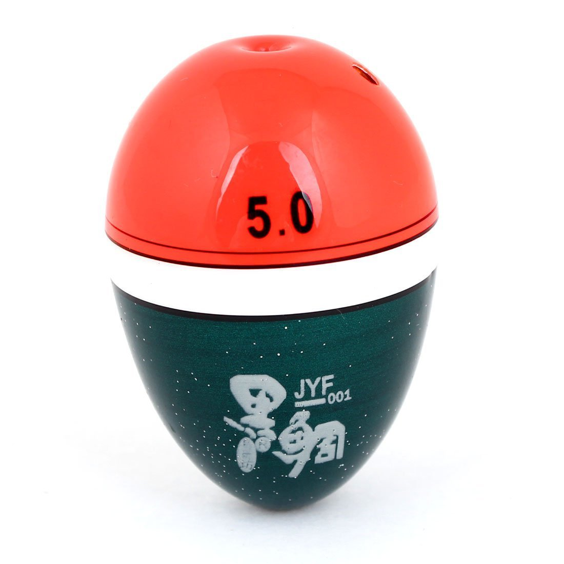 Como 3.8cm x 5.6cm Orange Rouge ovale en plastique flottant de pêche Bobber remplacement