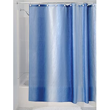Amazon.com: InterDesign Ombre Fabric Shower Curtain, 72 X 72, Surf Blue:  Home U0026 Kitchen