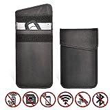 YEETHE Car Key Signal Blocker Case 2 Pack, Antitheft Lock Devices, Signal Blocking Pouch Bag