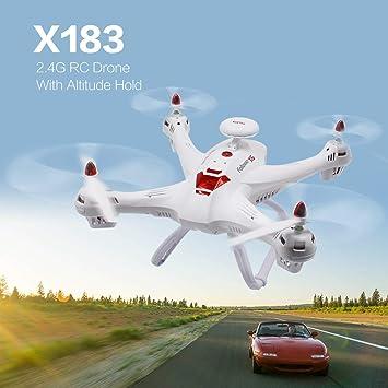 WOSOSYEYO X183 2.4G RC Drone Modo sin Cabeza Altitud Sostener una ...