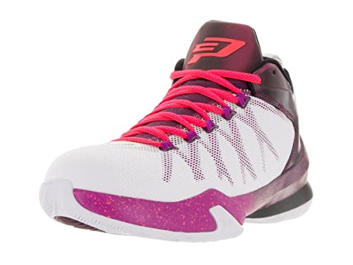 Jordan Mens CP3.VIII AE White Bordeaux Fuchsia Flash Infrared 23 725173-113  10  Buy Online at Low Prices in India - Amazon.in 56124638b
