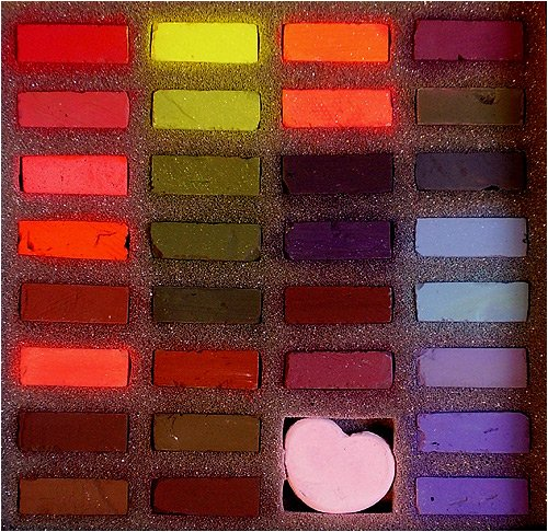 Terry Ludwig Soft Pastels- 30 Intense Darks