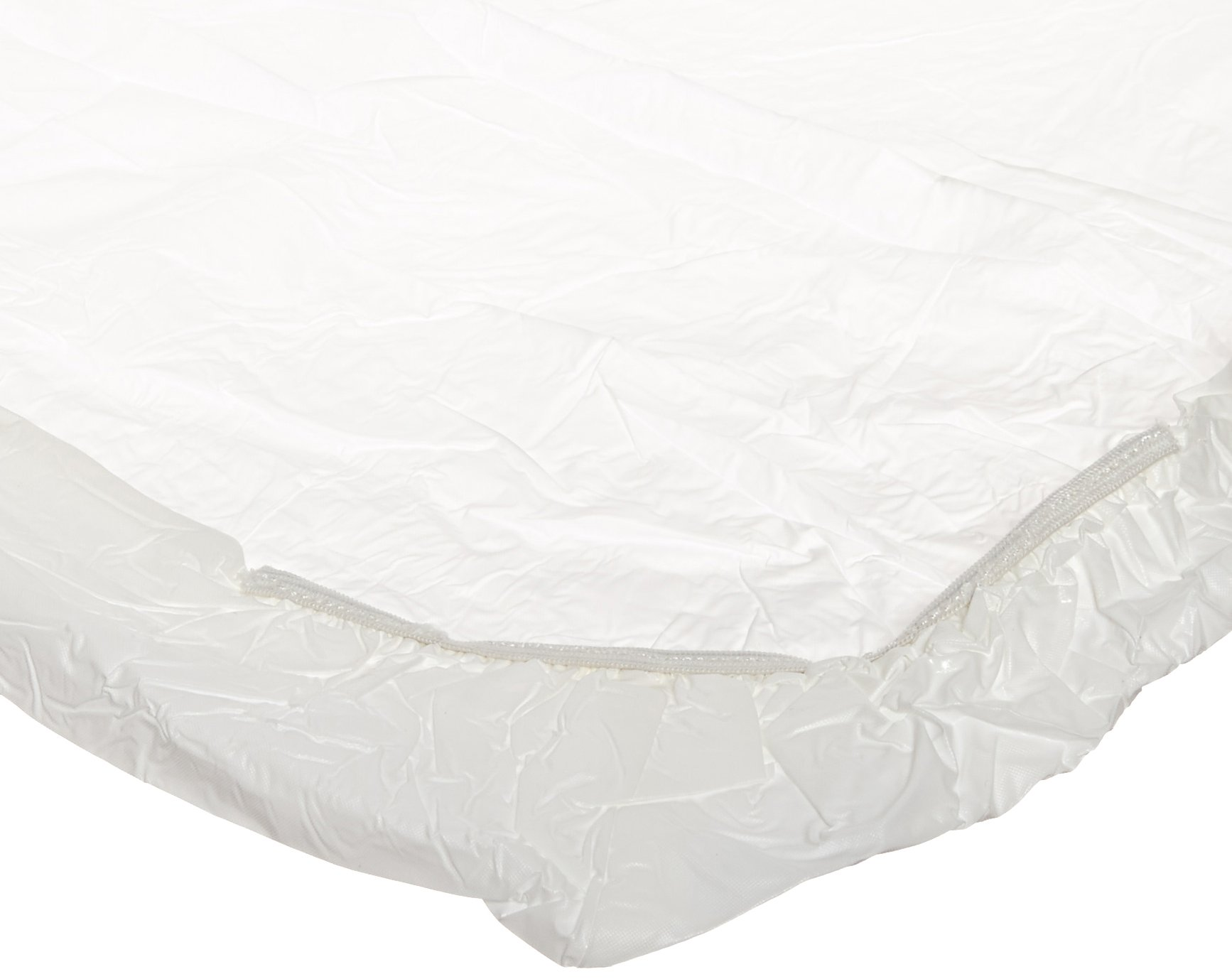 Kwik-Cover 3072PK-W 30'' X 72'' Kwik-Cover - White Fitted Table Cover (1 full case of 50)